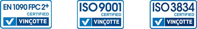 logo-certificazioni Home Artigiana lavorazione ferro metallo