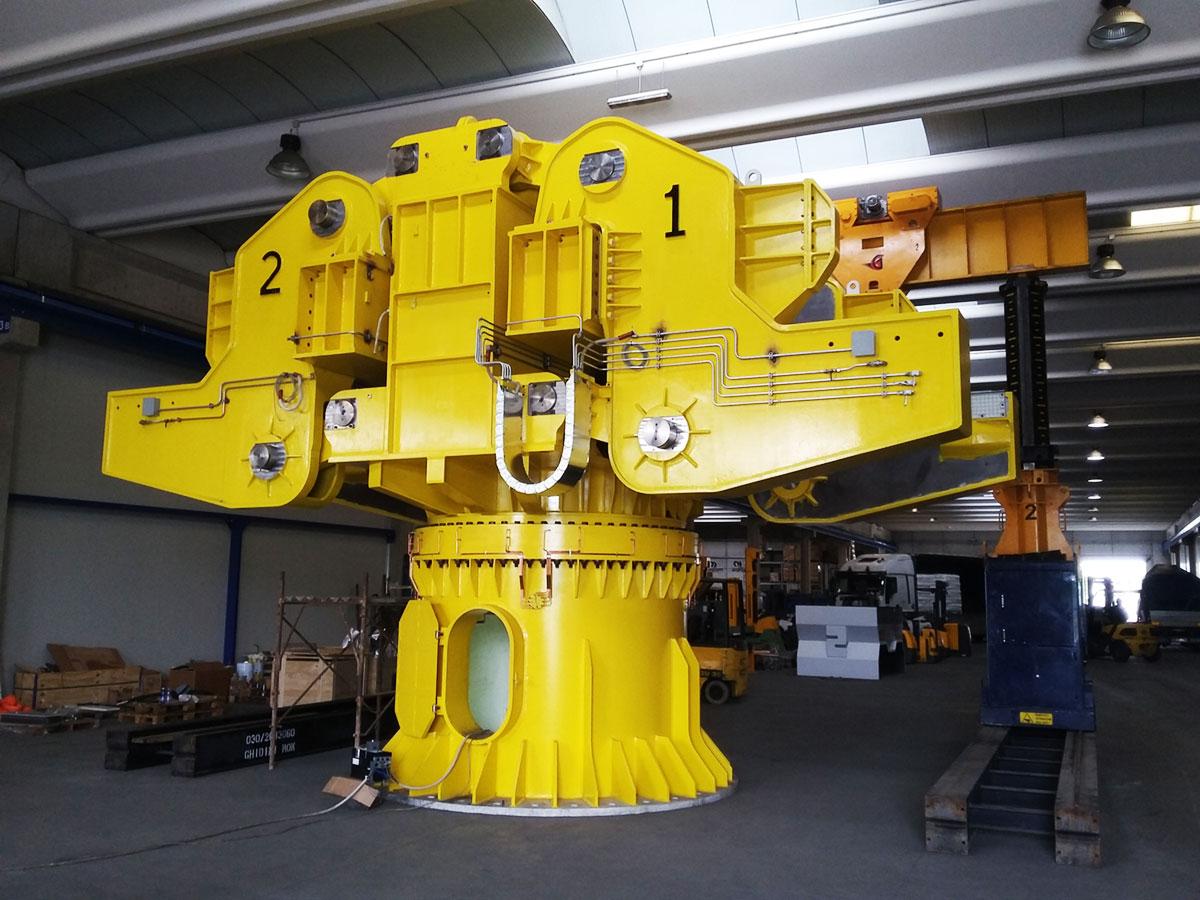 torretta-porta-siviere-da-180-ton Siderurgico